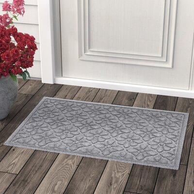 Conway Medallion Doormat Color: Medium Gray
