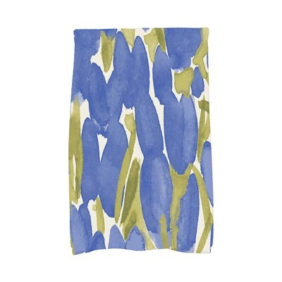 Quast Tulip Floral Hand Towel Color: Blue