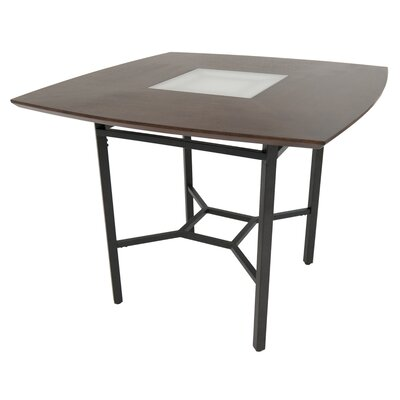 Oettinger Gathering Pub Table Color: Brown