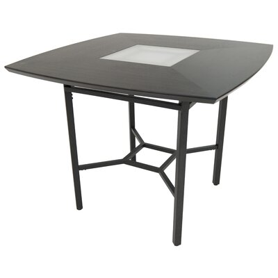 Oettinger Gathering Pub Table Color: Dark Brown
