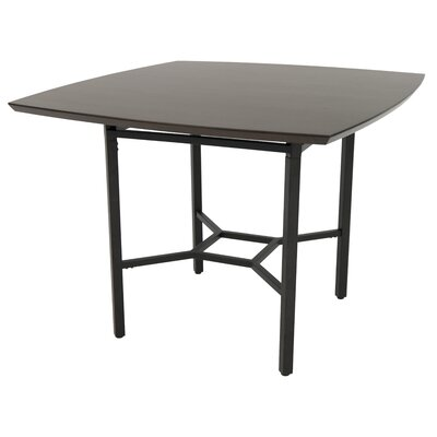 Oettinger Gathering Pub Table Color: Brown, Size: 47.75 W x 47.75 D