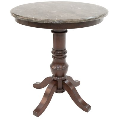 Vitagliano Pub Table Color: Brown Cosmo Amber
