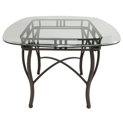 Alton Pub Table Color: Matt Brown Bronze, Size: 36.37 W x 48 W x 48 D