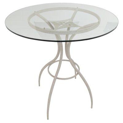 Clareville Pub Table Color: Off-White