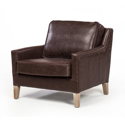 Digirolamo Occasional Armchair Upholstery: Brown