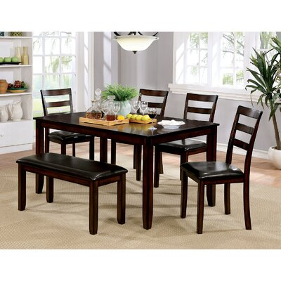 Kasten 6 Piece Dining Table Set