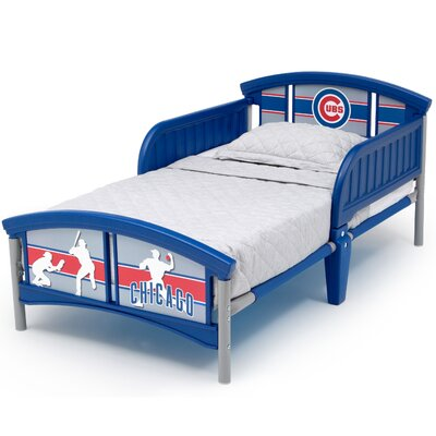 MLB Chicago Cubs Convertible Toddler Bed BB9802CHC-1232