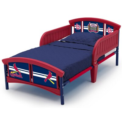 MLB St. Louis Cardinals Plastic Toddler Bed BB9804STL-1234