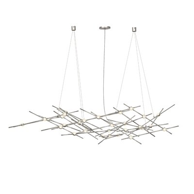 Constellationt LED Ursa Minor Geometric Pendant Shade Color: Clear Faceted Acrylic