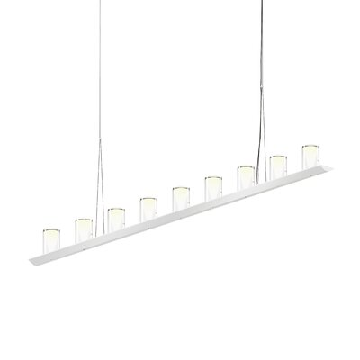 18-Light LED Kitchen Island Pendant Finish: Bright Satin Aluminum