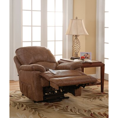 Morgan Power Lift Assist Recliner Color: Silt