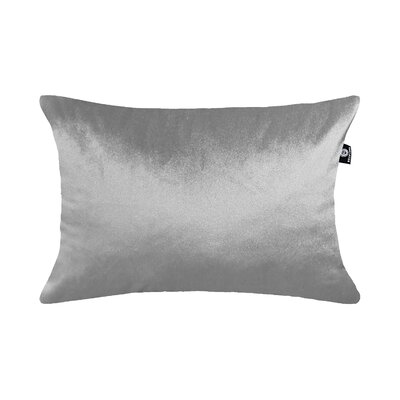 Delrick Luster Lumbar Pillow Color: Silver Gray