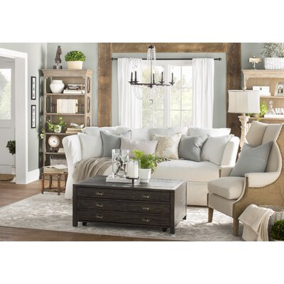 Blakesley Slipcovered Sofa Upholstery: Classic Bleach White