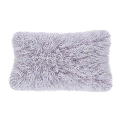 Hylan Mongolian Lumbar Pillow Color: Lavender