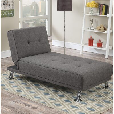 Dansby Ajustable Chaise Lounge Upholstery: Slate