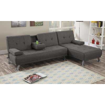 Dansby Sectional Upholstery: Slate