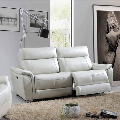 Meister Electric Leather Reclining Sofa