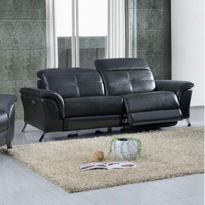 Tom Electric Leather Reclining Sofa