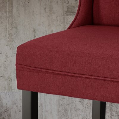 Torino 27.75 Bar Stool Color: Deep Red