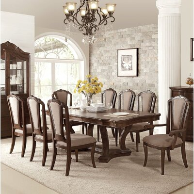 Liddington 9 Piece Dining Set Color: Cherry