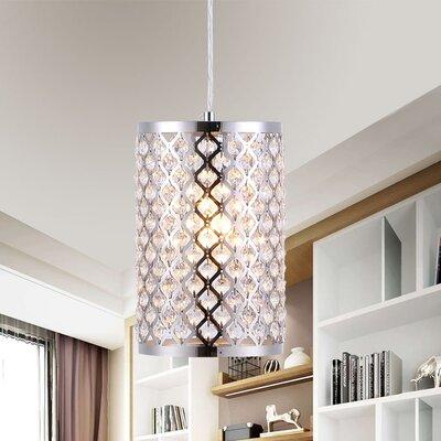 Adalwine 1-Light Lantern Pendant
