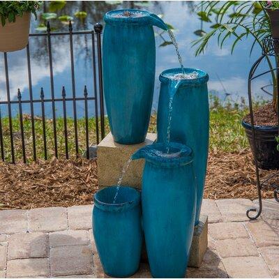 Resin Caisson Indoor/Outdoor Floor Fountain