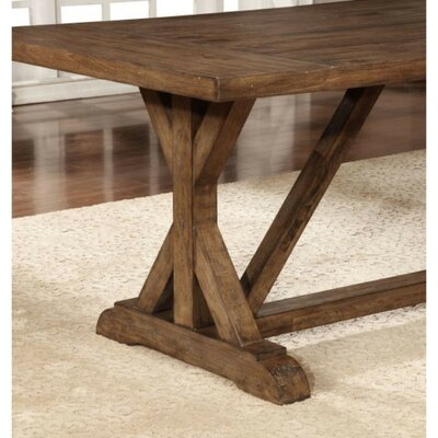 Squires Rustic Craftsman Base Dining Table