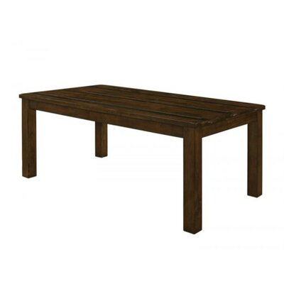 Veney Pastoral Wooden Dining Table