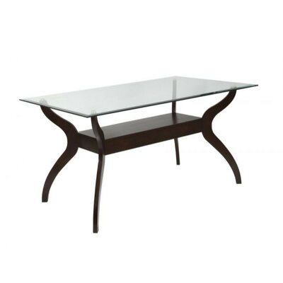 Bastine Modern Arcuate Wooden Dining Table