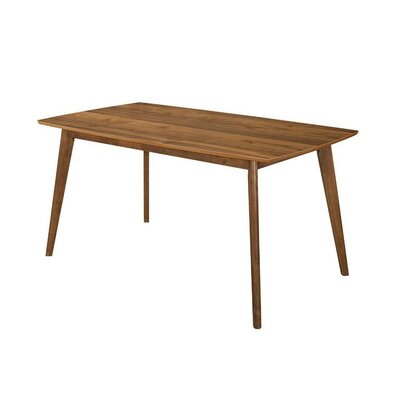 Dyess Quaint Style Wooden Dining Table