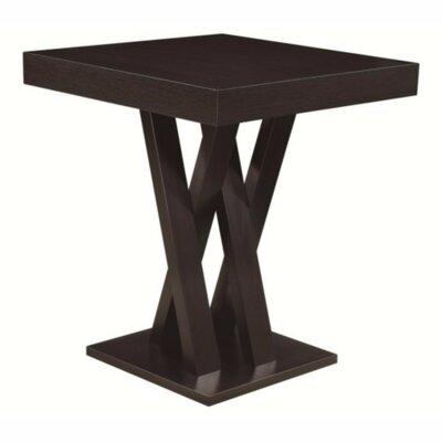 Seefeldt Pub Table Color: Dark Brown