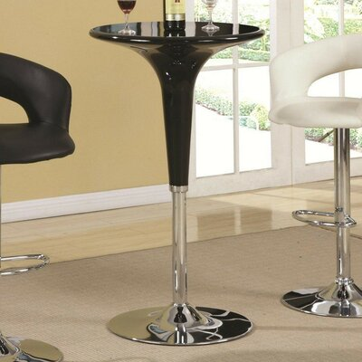 Lisinski Contemporary Adjustable Pub Table