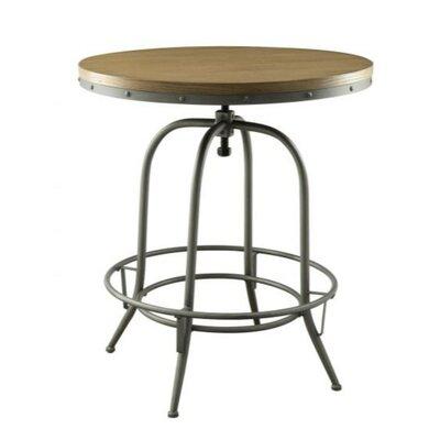 Mccormick Wooden Top Adjustable Pub Table