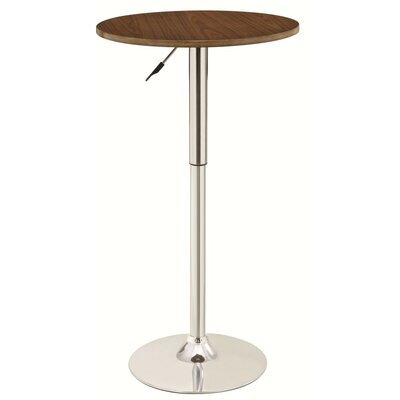 Whooten 2-Tone Chic Adjustable Pub Table