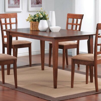Jefcoat Sophisticated Wooden Dining Table