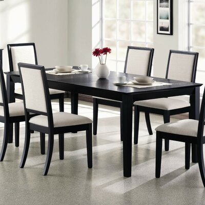 Jaquez Wooden Extendable Dining Table