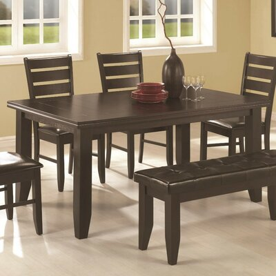 Jefferson Place Semi-Formal Wooden Dining Table