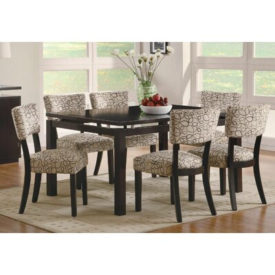 Bich Transitional Style Floating Top Dining Table