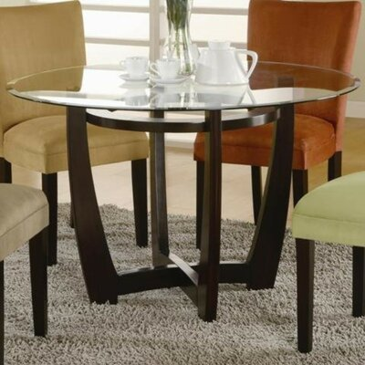 Dung Arch Cross Wooden Dining Table