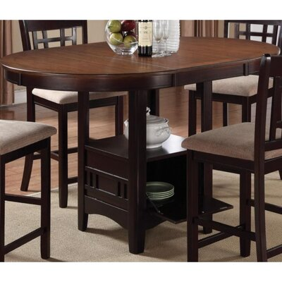 Jelks Dual-Tone Counter Height Dining Table