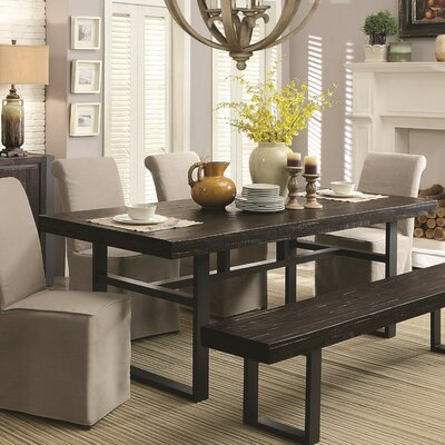 Spruance Dual-Tone Wooden Dining Table