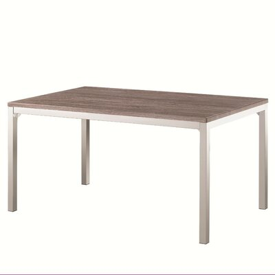 Deca Dining Table Size: 30 H x 60 W x 78 L