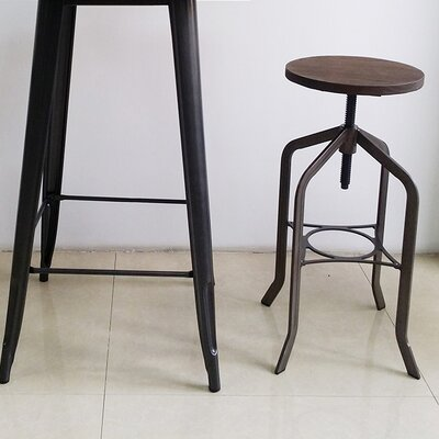 Mcatee 33 Swivel Bar Stool