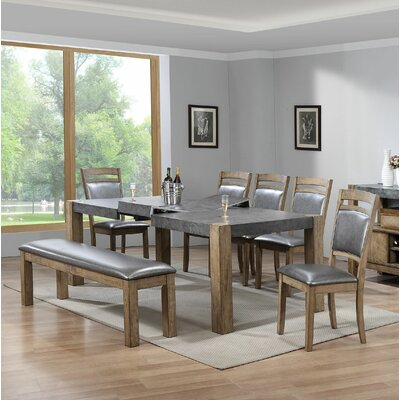 Timko 7 Piece Dining Set