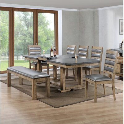 Timmer 7 Piece Dining Set