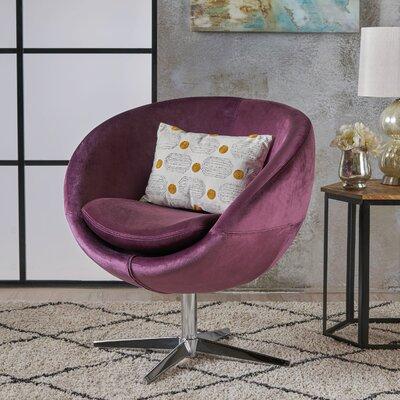 Swivel Barrel Chair Upholstery: Raisin