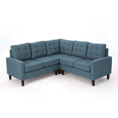 Vanhorn Modular Sectional Upholstery: Blue