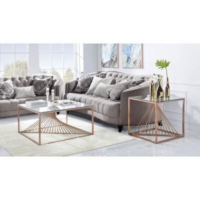 Welwyn 2 Piece Coffee Table Set