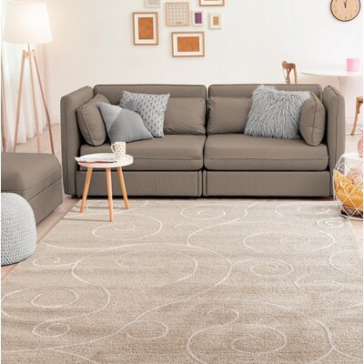 Hilley Accent Brown Area Rug Rug Size: Rectangle 5 x 8