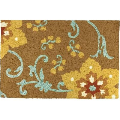 Purifoy Hand-Tufted Gold Indoor/Outdoor Area Rug